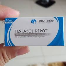 Testabol Depot ®  (Testosterone Cypionate) 200mg/ml 10ml vial, British Dragon