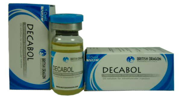 Decabol (Nandrolone Decanoate) 200mg/ml 10mg vial (British Dragon)
