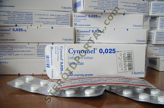 Cynomel 25mcg, (T3 / Cytomel)