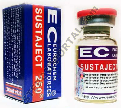 Sustaject (mix of 4 testosterone esters) 10ml, 250mg/ml Eurochem Laboratories
