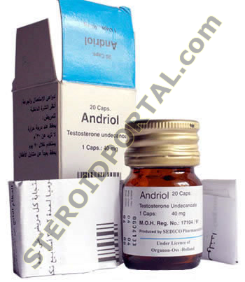 Andriol ® (Testosterone Undecanoate) 40mg